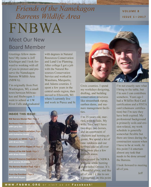 FNBWA Newsletter January 2017 1